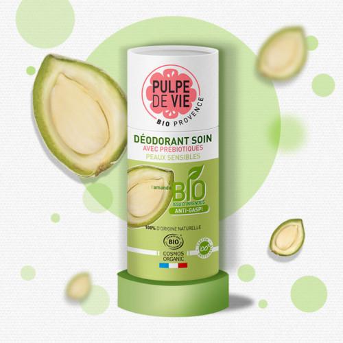 Deodorant stick pentru piele sensibilă DAM DAM DÉOOO (zero plastic)