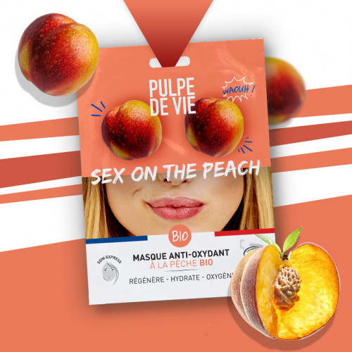 Mască antioxidantă și revitalizantă Sex on the Peach