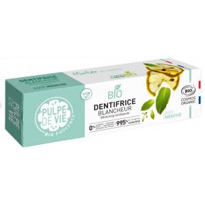 Pastă de dinți mentolată cu lămâie și efect de albire – MINTER IS COMING
