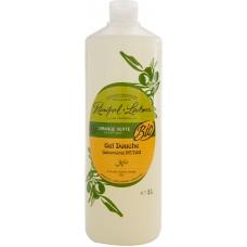 Gel de duş bio portocală verde