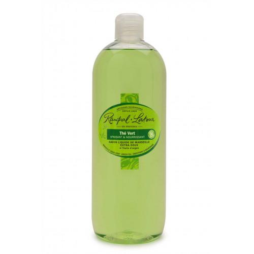 Săpun lichid de Marsilia - ceai verde argan / mâini & corp