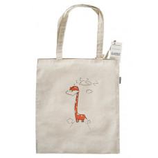 Sacoşa de pânză cu girafă