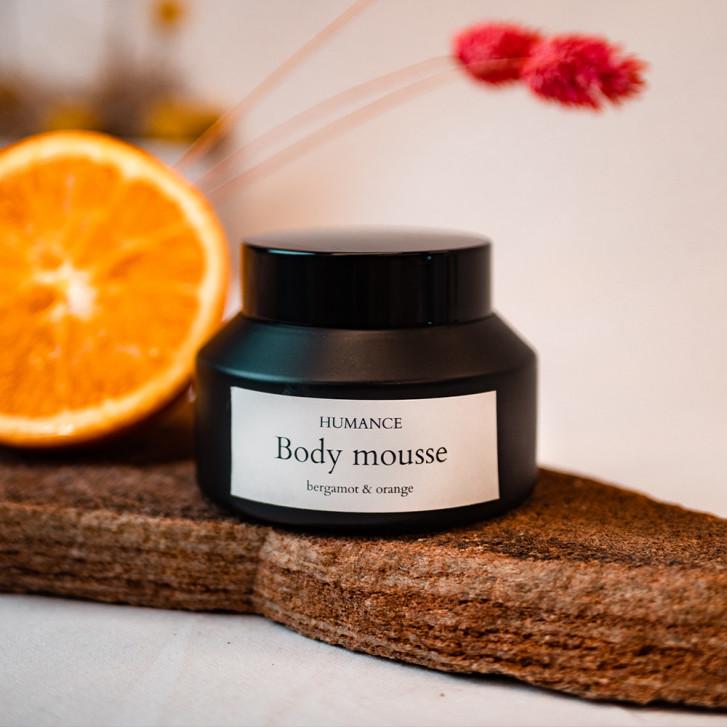 Body Mousse bergamotă & portocale