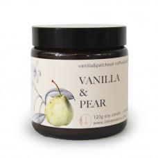 Lumânare naturală Vanilla Pear