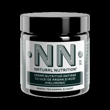 Crema nutritiva anti-age cu ulei de argan si acid hialuronic