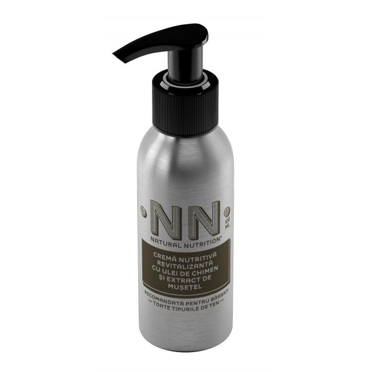 Aftershave & Crema nutritiva revitalizanta cu chimen si musetel (2in1)