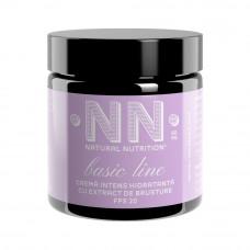 BASIC LINE Crema intens hidratanta cu extract de brusture - SPF 20 (ten gras / mixt)