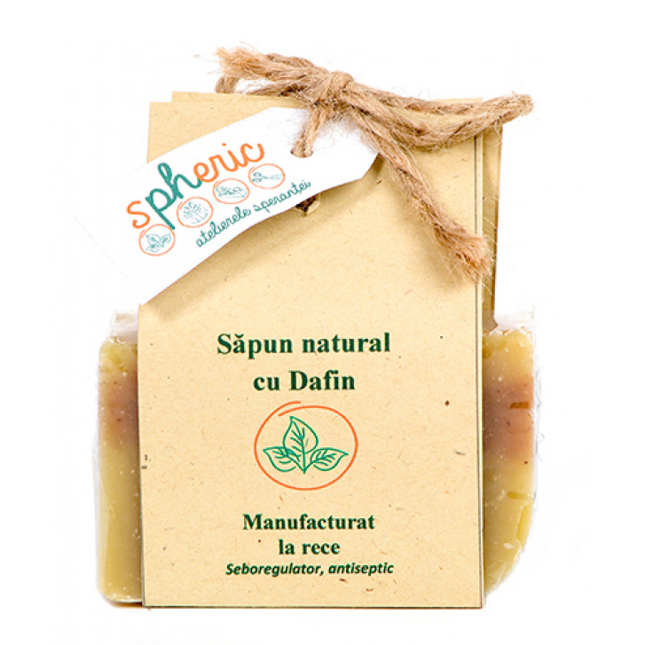 Săpun natural cu dafin