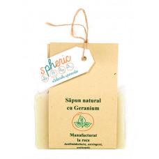 Sapun natural cu geranium