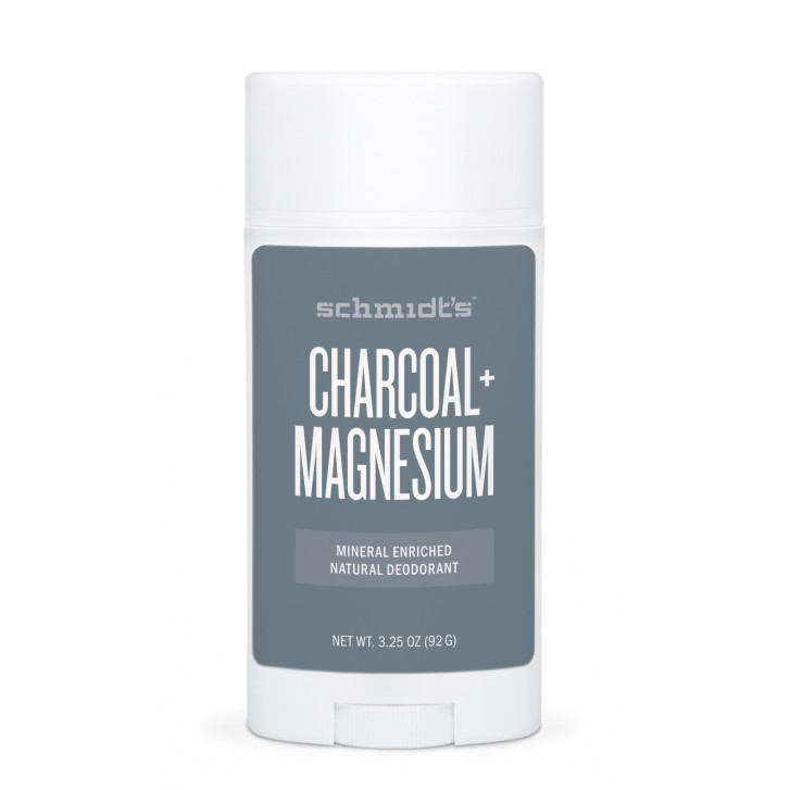 Deodorant stick natural Charcoal + Magnesium