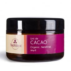 Unt de cacao organic nerafinat
