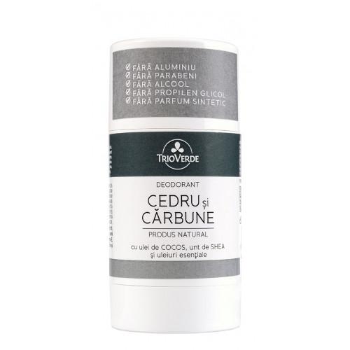 Deodorant natural CEDRU CARBUNE