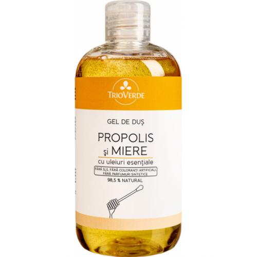 Gel de duș cu propolis și miere