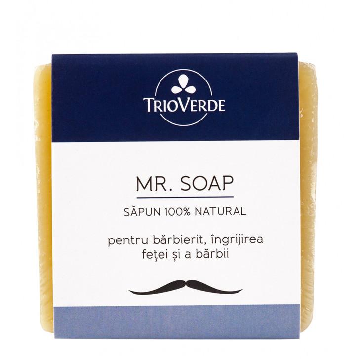 Mr. Soap - săpun natural pentru bărbierit / îngrijirea feței și a bărbii