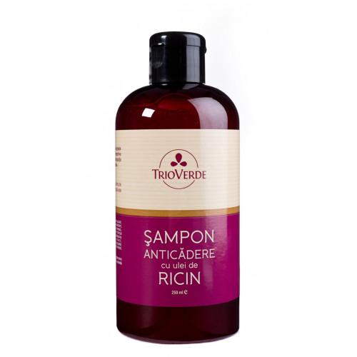Șampon anticădere - cu ulei de ricin