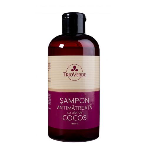 Şampon anti mătreaţă - cu ulei de cocos