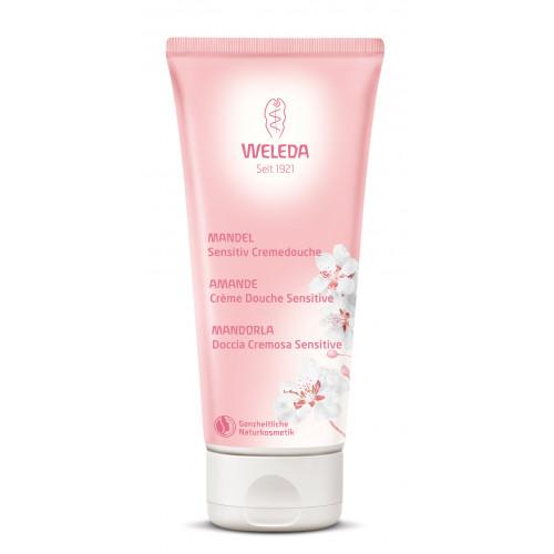 Loțiune de duș cu migdale (pentru piele sensibilă)